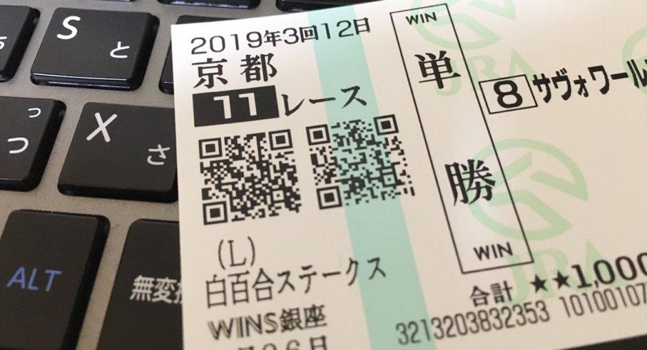 馬券のQRコードの意味は?実際に読み取ってみた。